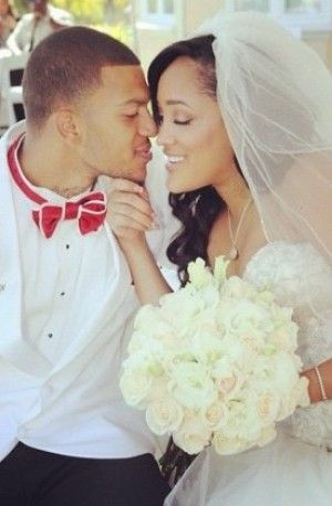 bad girls club natalie nunn | Former Bad Girls Club member NATALIE NUNN exchanged vows this weekend ...