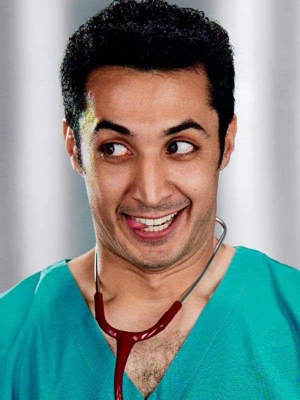 "Riaad, one of the country`s most popular and acclaimed funny men with a style all his own, is known as """"the Comedy Doctor"""", and he certainly seems to have the remedy for the nation`s ills at the moment: a healthy dose of laughter, straight up – hold the aspirin – it`s #Doctorsorders!"