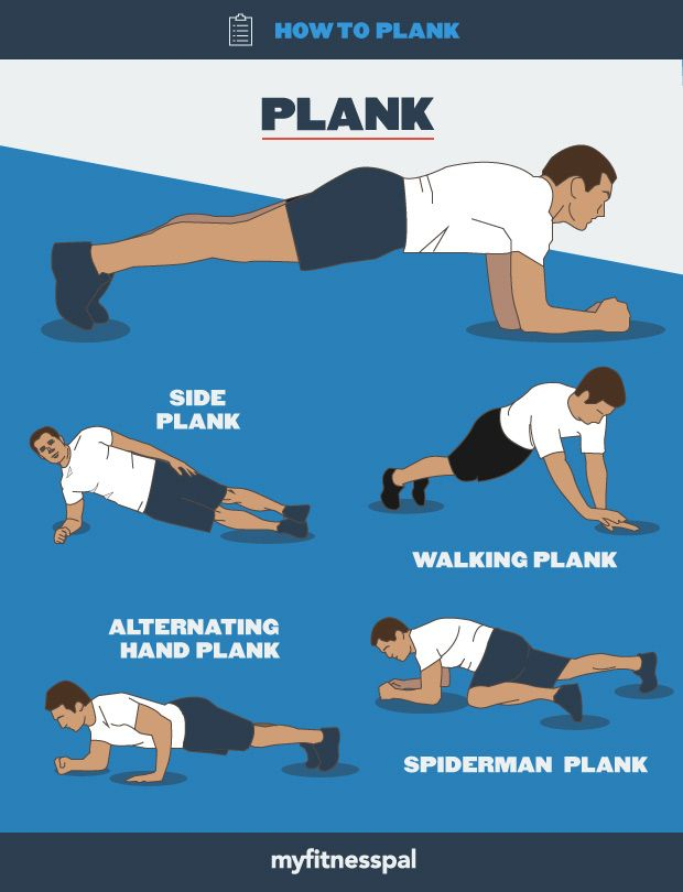 Fitness Tip: How to plank the right way and a variety of ways.