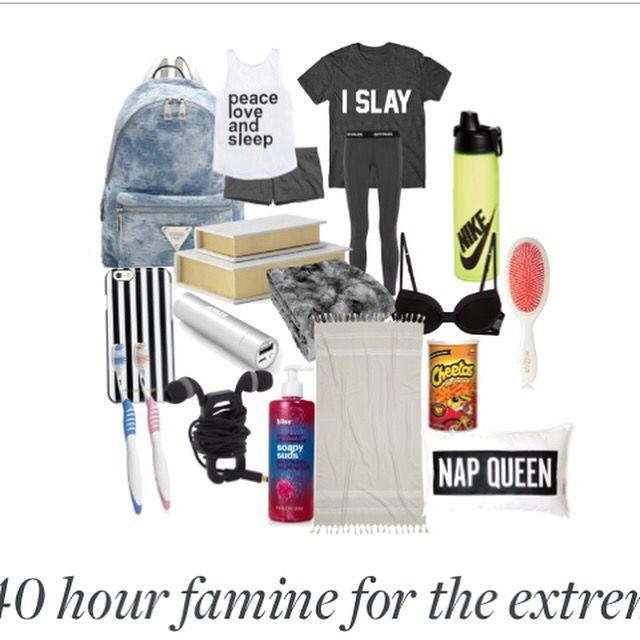 40 hour famine list 2016
