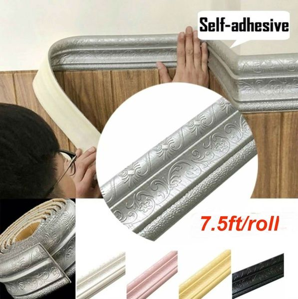 500cm 20cm A Roll Of Self Adhesive Waterproof Pvc 3d Simulation Wooden Floor Sticker Wall Art Decal Diy Home Decor Wish Decal Wall Art Wall Stickers Self Adhesive Wall Tiles