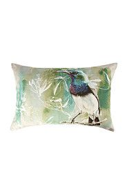 PRINTED SUGAR BIRD 40X60CM SCATTER CUSHION