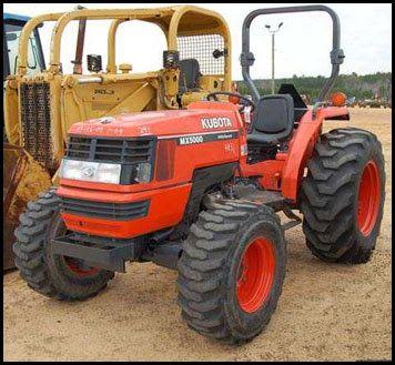 Kubota Service Manual Kubota Model Mx5000 Tractor Repair