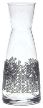 Cube-It Carafe - contemporary - Serveware - Quench Glassware