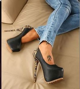 2014 Decolte Decollete PLATEAU tacchi alti drag queen sexy giaro scarpe heels on Chiq  $70.15 http://www.chiq.com/2014-decolte-decollete-plateau-tacchi-alti-drag-queen-sexy-giaro-scarpe-heels
