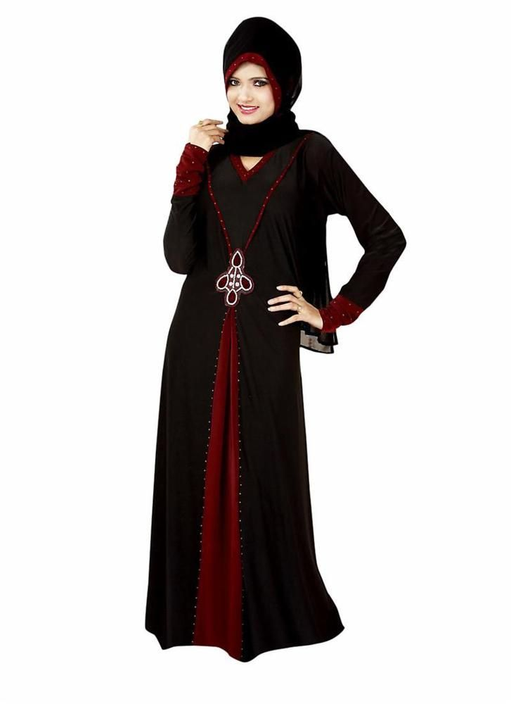 Maxi Dress Islamic Clothing Jilbab Style Bahiyyah Abayaa Hijab Dubai Long Dress…