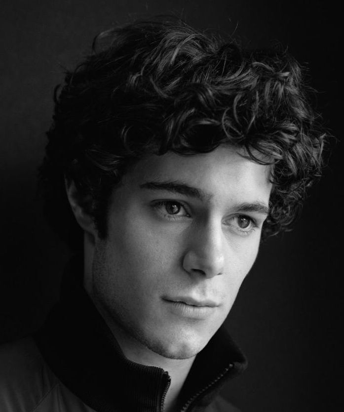 Curly Hairstyles For Mens With Round Faces: Adam Brody Menu0027s Long Curly  Thick Dark Hairstyle