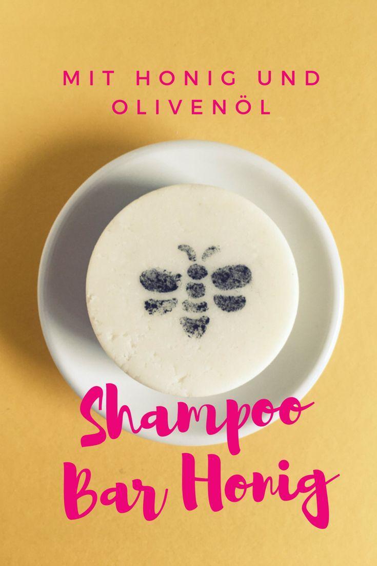 Rezept für ein festes Shampoo mit pflegendem Honig – MEINE DIY KOSMETIK