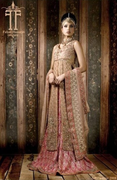 Saree Fashion from The Big Fat Indian Wedding :: 12 Gorgeous Pink Bridal Saris & Lenghas