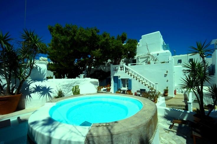 Stay at Carbonaki Hotel Enjoy Mykonos http://www.carbonaki-mykonos.com/