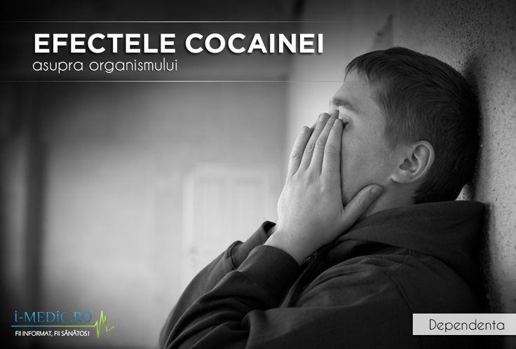 Cocaina este o substanta care actioneaza asupra sistemului nervos central, creand un grad mare de dependenta intr-un interval de timp relativ redus. Cocaina pura este o pulbere alba obtinuta din frunzele uscate ale copacului de coca -  http://www.i-medic.ro/tutun-alcool-droguri/efectele-cocainei-asupra-organismului