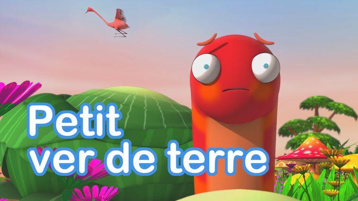 CHANSON | Petit ver de terre - paroles incluses, chanson en français.