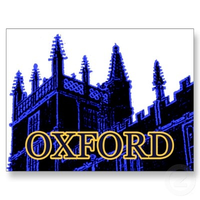 Image by jGibney - Oxford England 1986 Building Spirals Blue, Oxford England 1986 Building Spirals Black, Oxford, England, University, Oxford England 1986 Building Spirals Black The MUSEUM Zazzle Gifts,