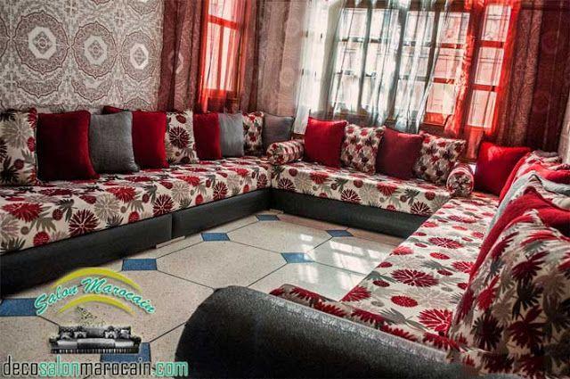 Top salon marocain traditionnel / canapés et coins...    Top décoration du salon marocain traditionnel  et canapé vous donne des grands...