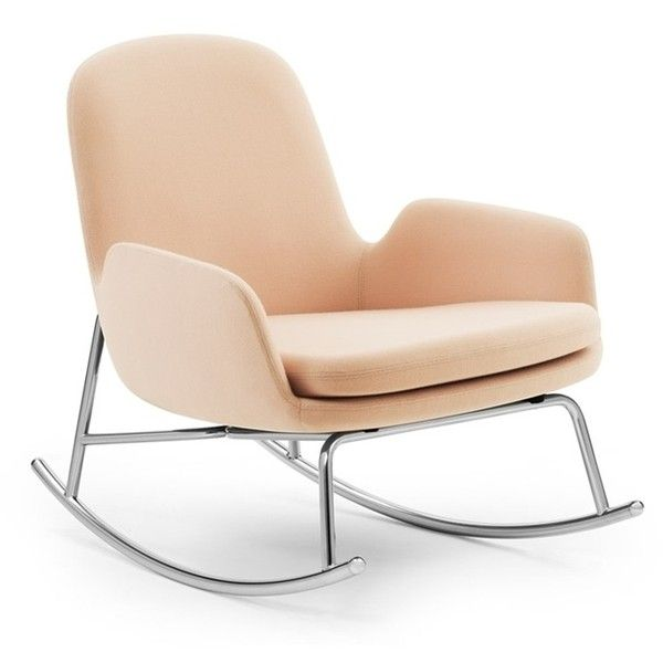 era rocking chair low normann copenhagen 205 tnd liked on polyvore featuring home