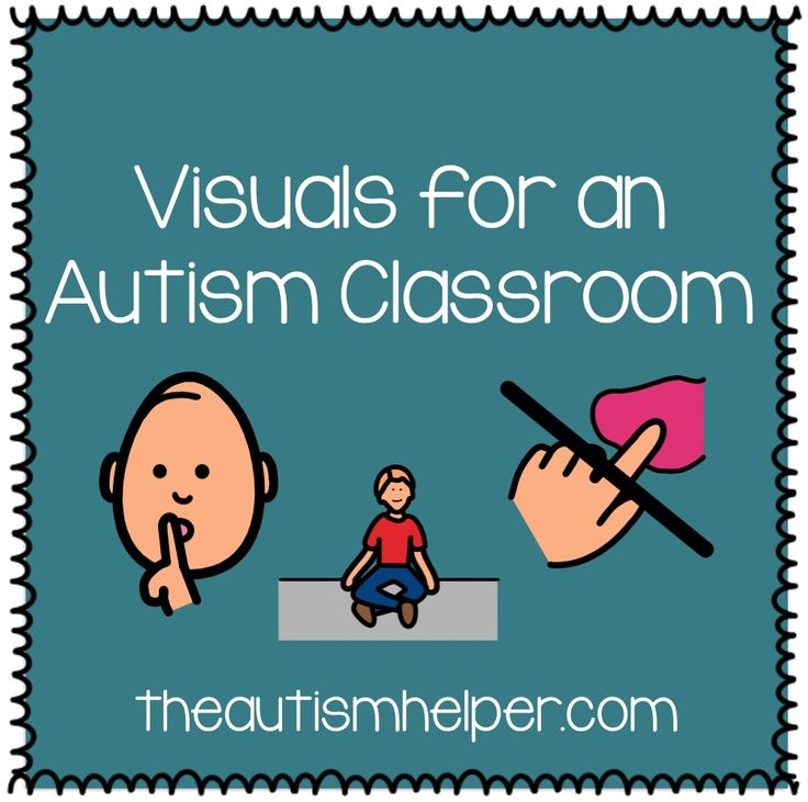Visuals are another important component to have and use in your classroom.  Why are visuals so important?  Imagine you were dropped off in a foreign country and didn't speak that language.  You can hear people talking to you but you have no ideas what the person is saying and what they expect you to do.  …