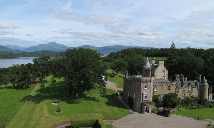 Boturich Castle, the only remaining private castle on the banks of Loch Lomond www.boturich.co.uk