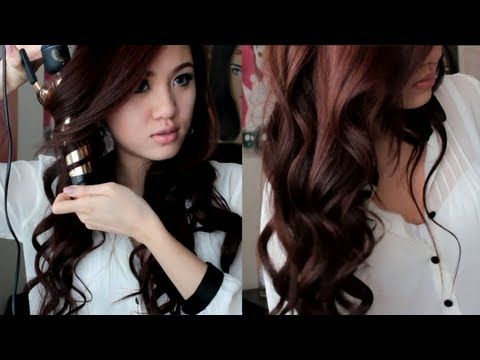Soft Romantic Curls Hair Tutorial - the easiest tutorial to follow if you just want long curls parted to one side : ) (will soon be my prom hairdo)