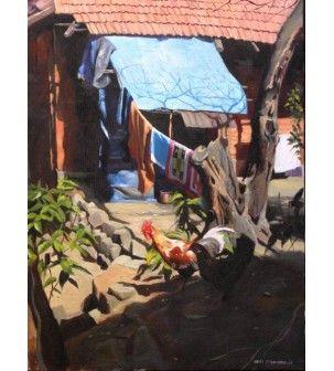Verandah Painting by Hari Phulaware