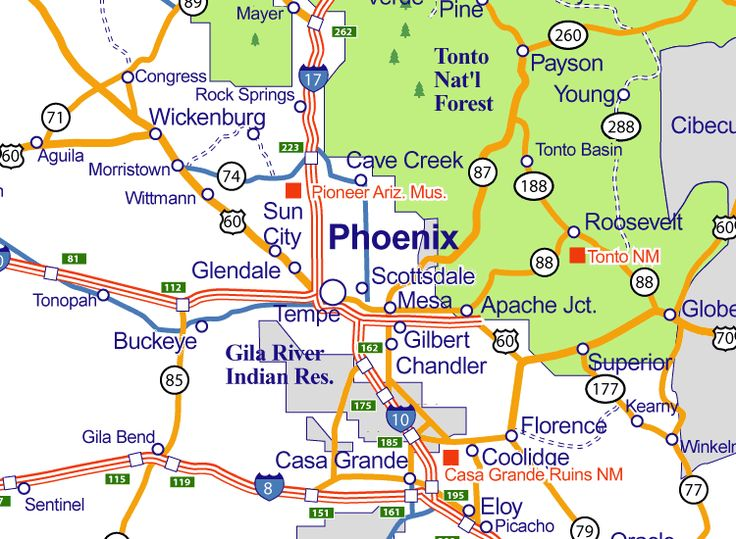 best 20 map of phoenix arizona ideas on pinterest az info