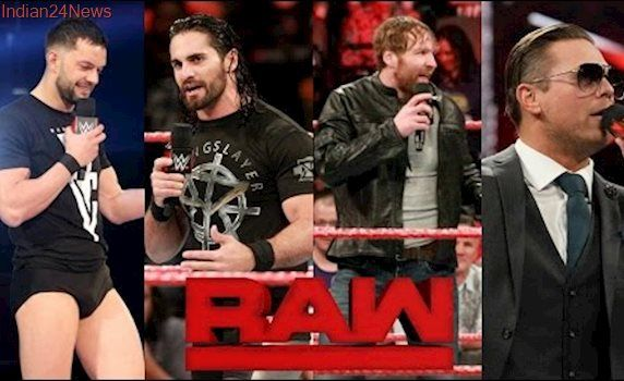 WWE RAW 5/01/2017 Highlights HD - WWE Monday Night RAW 1st May 2017 Highlights HD