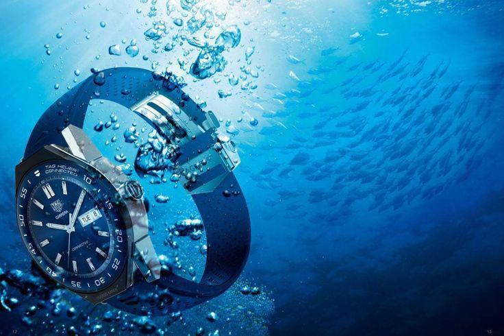 """Tradicional e futurista, Tag Heuer lança relógio inteligente    Relógio inteligente da Tag Heuer chega com Android e processamento da Intel. Produto segue os padrões """"suíços"""" de fabricação de relógios"""