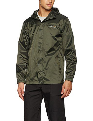 Regatta Pack it II - Chaqueta impermeable para hombre, chaqueta, hombre, color Marrón - Verde (Bay Leaf), tamaño XL #Regatta #Pack #Chaqueta #impermeable #para #hombre, #chaqueta, #color #Marrón #Verde #(Bay #Leaf), #tamaño