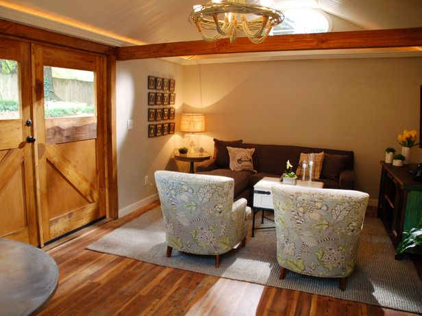 DIY Network Converts An Old Attic And Shed Into Living Spaces .