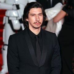 Adam Driver attends the Star Wars: The Last Jedi European Premiere