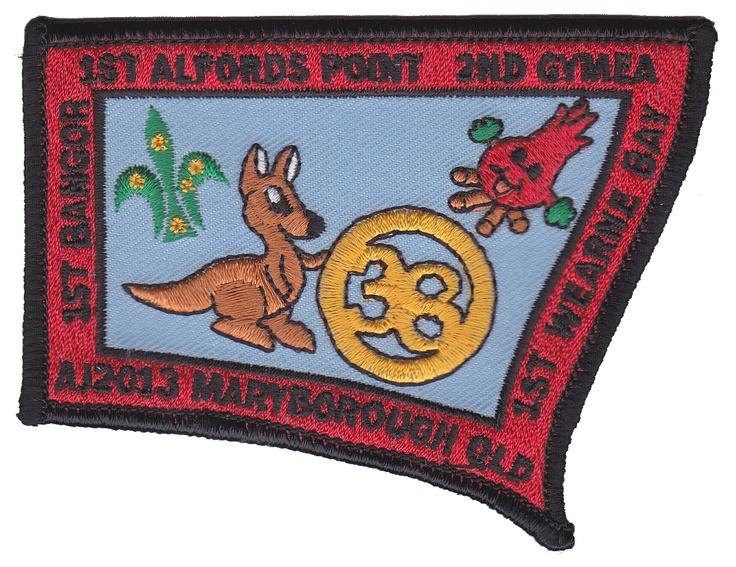 AJ2013 Troop O38 Badge