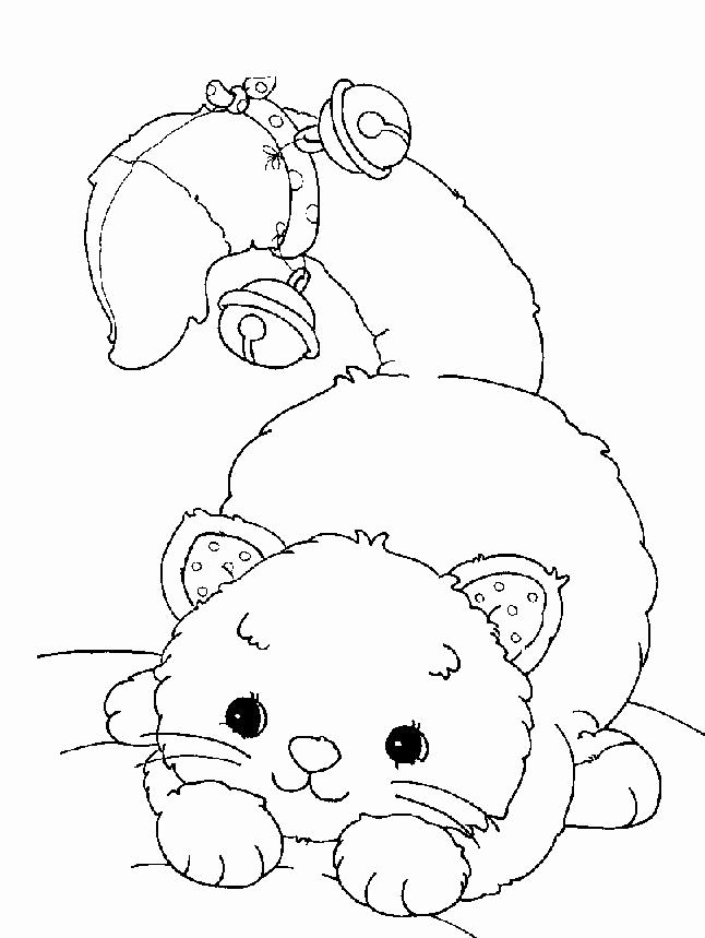 Kids Cat Coloring Pages Cat Coloring Page Animal Coloring Pages Christmas Coloring Pages