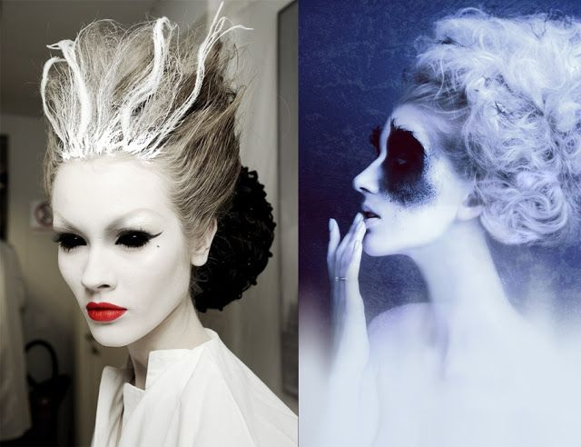 evil ice queen makeup, fantasy makeup | makeup/photography ...