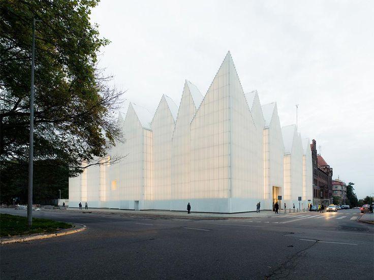 Philharmonie in Stettin von Barozzi / Veiga Architekten