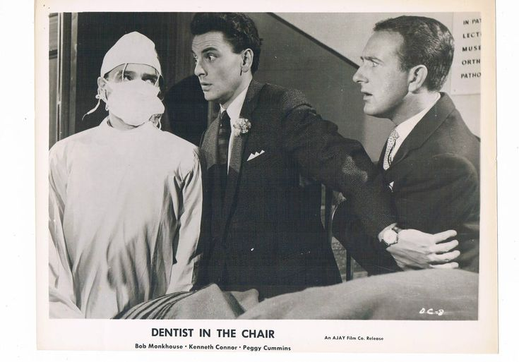 Bob Monkhouse Kenneth Connor Actors Dentist in the Chair Vintage Photograph 10x8 | Collectables, Photographic Images, Contemporary (1940-Now) | eBay!