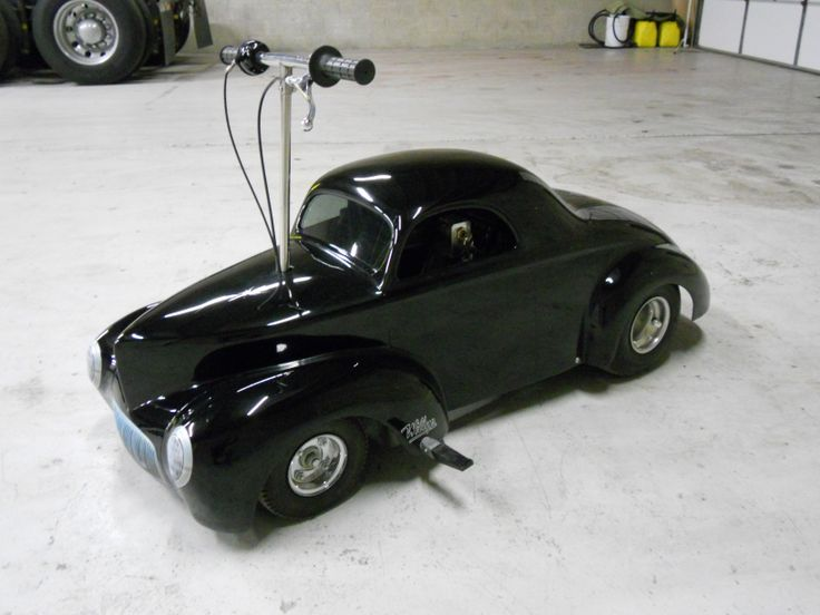Jr S Cool 41 Willys Ride On Hot Rod Go Cart 5 5hp