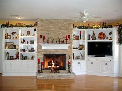 See more of my finished products like this wall unit on my  website at http://naturaldesignswoodworking.com/gallery.html