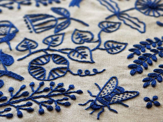 Modern Embroidery by Vitamini, via Flickr