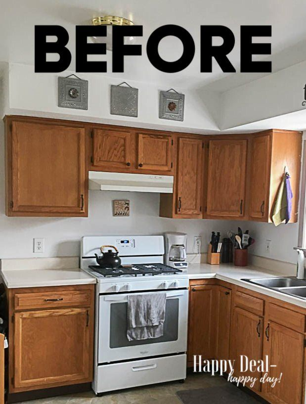 How To Paint Kitchen Cabinets Without Sanding Diy Painting Kitchen Cabinets Kitchen Cabinets New Kitchen Cabinets