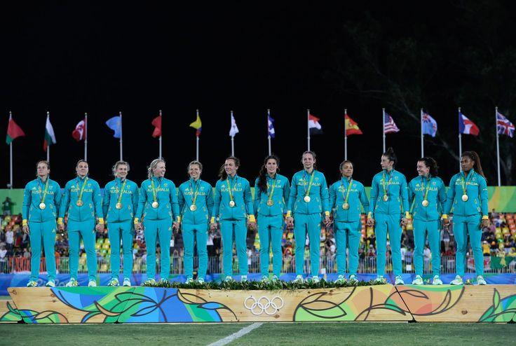 Gold: Women's Rugby Sevens Final