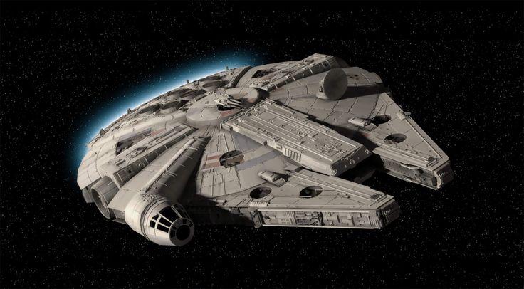 Star Wars DIY Drones: Millennium Falcon TIE Fighter