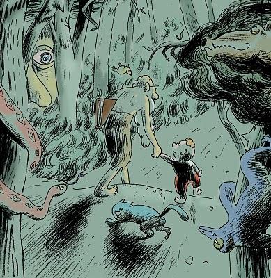 Marc Brocal: guanyador de la categoria Còmic dels Premis Junceda 2015.