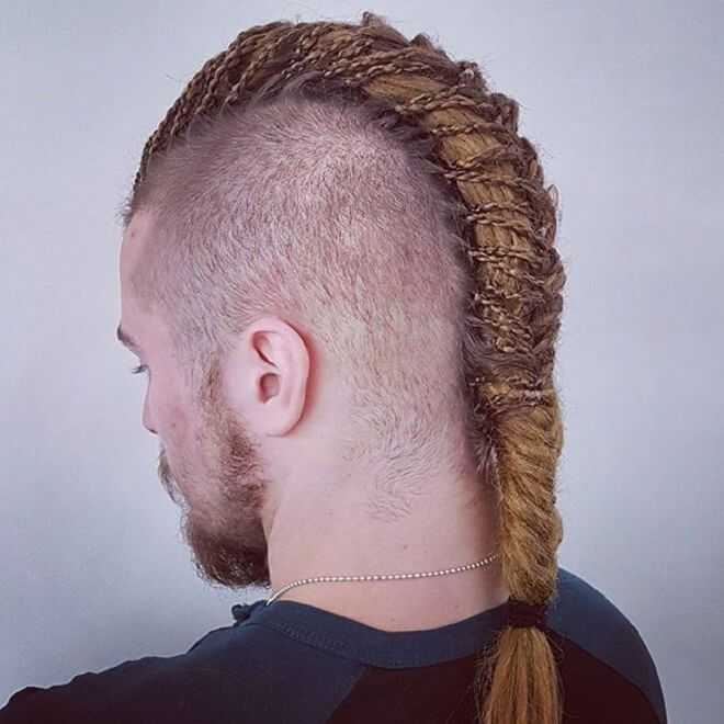 Viking Mohawk Braid Viking Hair Viking Haircut Hair And Beard Styles