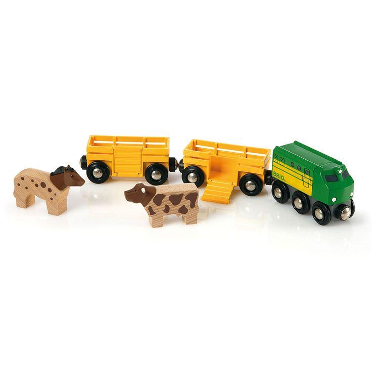 BRIO - Wooden Farm Train