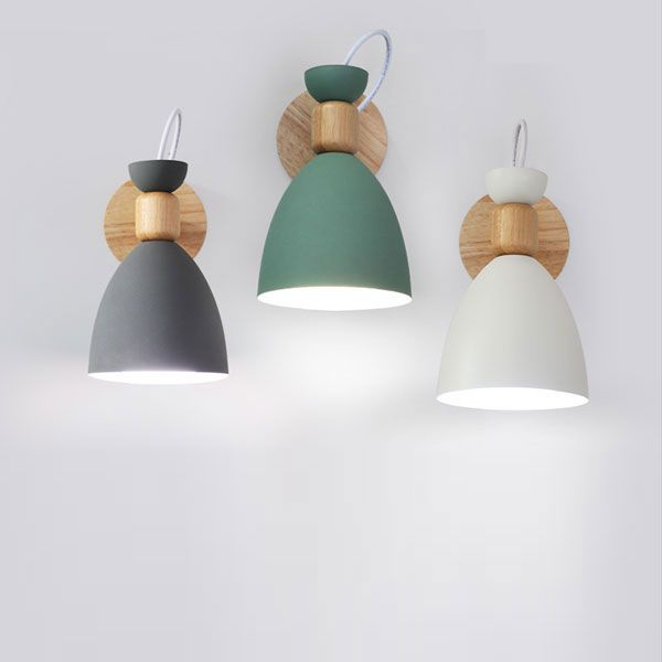 Space Saving Lighting Accents With Wall Lights Ranuuki Scandi Pastel Wall Lamp Iron Wall Lamps Wall Lamp Wall Sconces Bedroom
