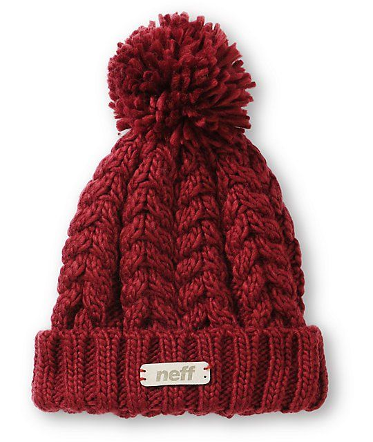 <b>Item Available For Pre-Sale, Will Ship On 11/14/2014.</b><br><br> Stay warm in ultra fresh style from the summits to the streets with this fold style beanie made with a chunky knit construction and a large pom pom at top.