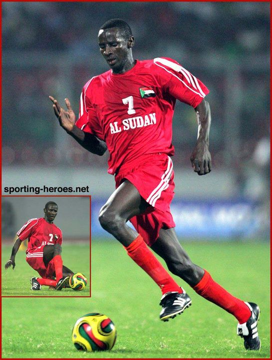 Alaeldin Ahmed Gibril - Sudan - African Cup of Nations 2008