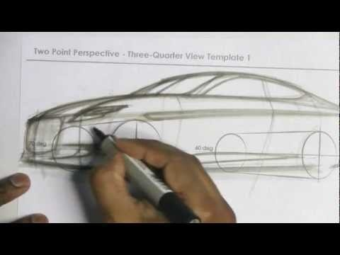 How to Draw Cars in Perspective Part 2