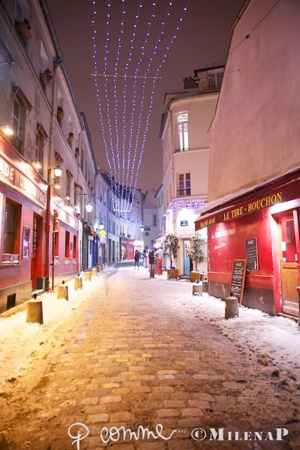 Paris, Montmartre, neige/snow, 20-janvier-2013