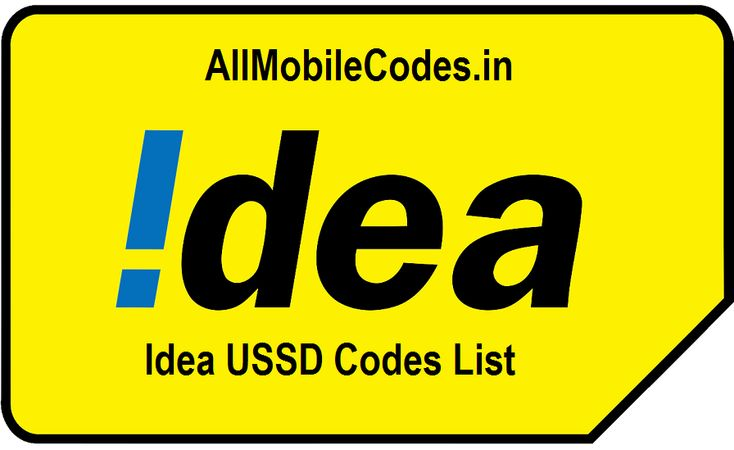 Complete List of All Idea USSD Codes