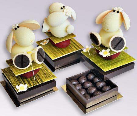 Le mouton en chocolat de Pâques - Plumetis Magazine